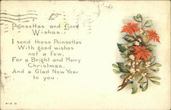 Poinsettas and Good Wishes