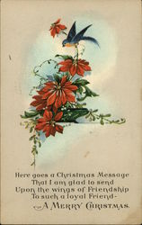 A Merry Christmas-flowers