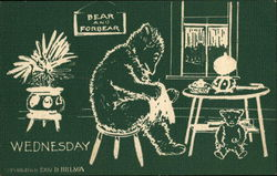 Wednesday, Bear and Forbear