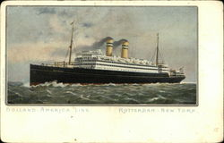 Holland America Line, Rotterdam-New York