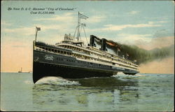 The New D&C Steamer,City of Cleveland
