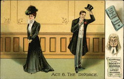 Act 6. The Divorce, In the High Court of Justice, Society Divorce, Latest Winners