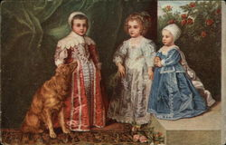 The Children of Charles I by Anthony Van Dyck