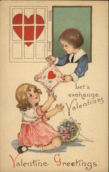 Valentine Greetings, Let's Exchange Valentines