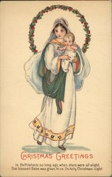 Mary Carrying Baby Jesus