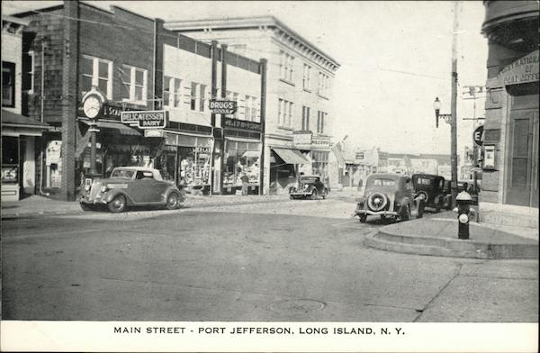Main Street Port Jefferson New York