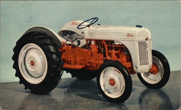 1953 Ford Tractor Advertising
