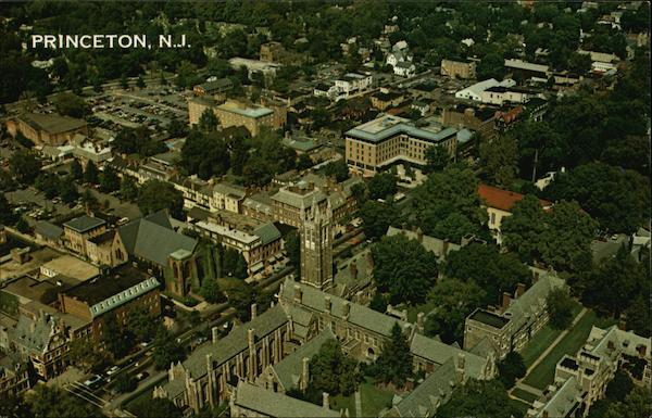 Aerial View of Mercer County Princeton New Jersey