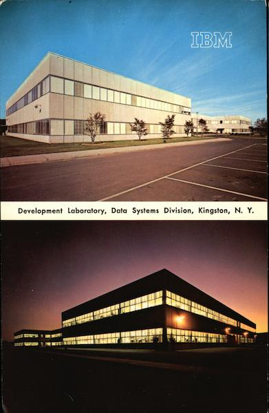 IBM, Development Laboratory, Data Systems Division Kingston New York