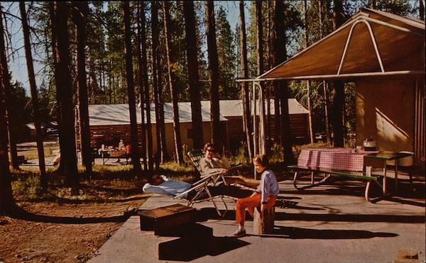 Tent Village, Colter Bay, Grand Teton National Park