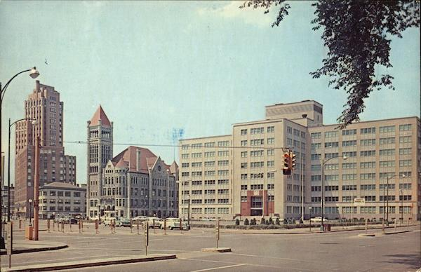 State Tower Building, City Hall and State Office Building Syracuse New York