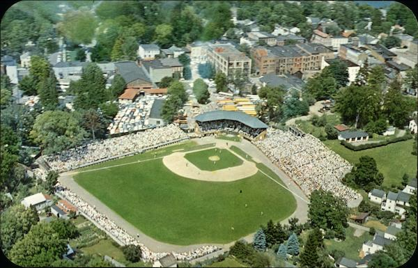 Air View of Doubleday Field Cooperstown New York