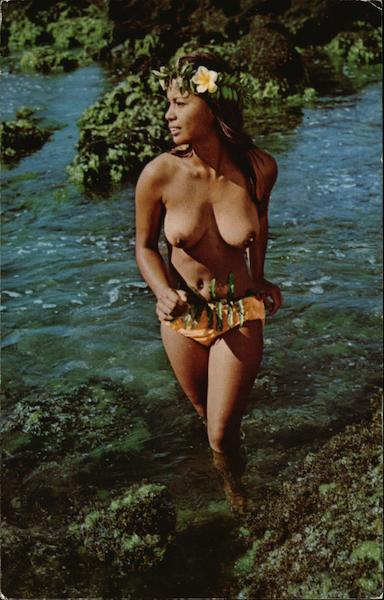Hawaiian Water Sprite Risque & Nude