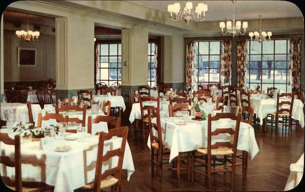Georgian Dining Room Boone Tavern Hotel Berea Kentucky