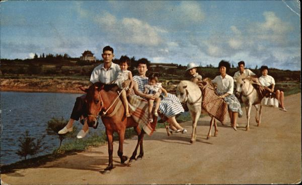 Horse Riding, a Unique Means of Transportation in Kinmen