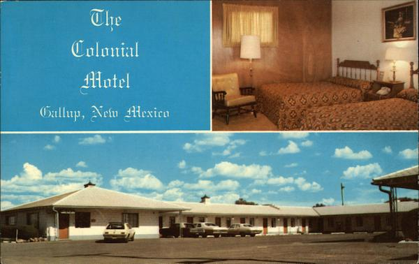 The Colonial Motel Gallup New Mexico