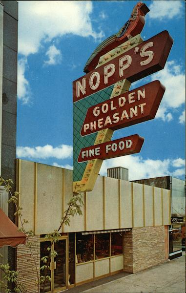 Nopp's Golden Pheasant Restaurant Salem Oregon