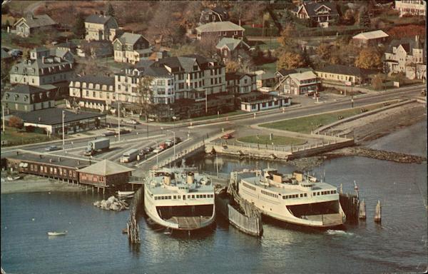 Jamestown, R.I. Terminal of Newport-Jamestown Ferry System