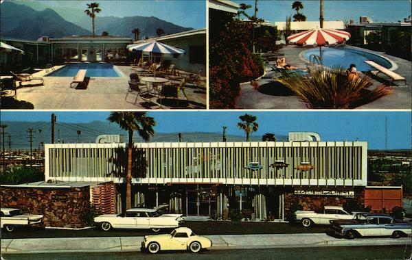 The Park Lane Hotel Palm Springs California
