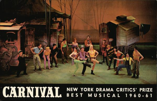 Imperial Theatre: Showing Carnival New York