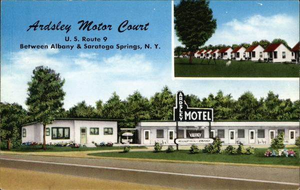 Ardsley Motor Court Saratoga Springs New York