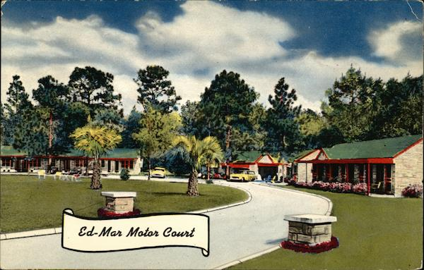 Ed-Mar Motor Court Ocala Florida