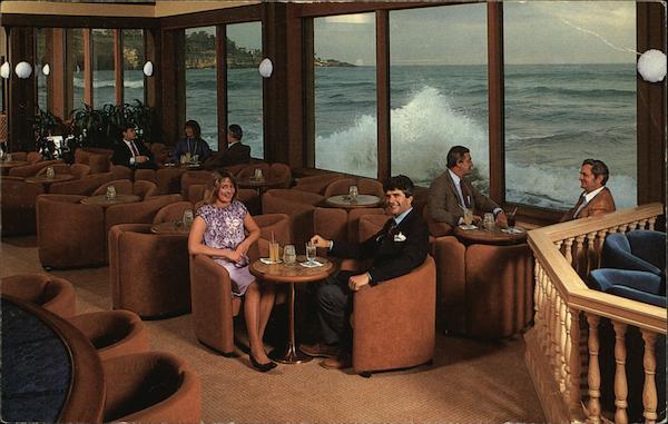 Spindrift Cocktail Lounge Marine Room La Jolla Ca