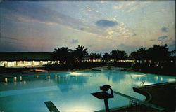 Beautiful Night at the Grand Bahama Hotel and Country Club, West End Grand Bahamas Island