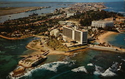 Old Fort San Geronimo, Caribe Hilton Hotel and Normandie Hotel