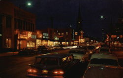 Night Scene, Franklin Street
