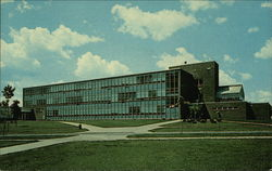 Science Hall-Ferris State College Postcard