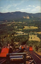 Moat Mountain as Seen from the Upper Unit of the Mt. Cranmore Skimobiles