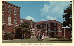 Ordway Hall, Murray State University Postcard