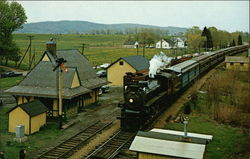 Steam Train at Great Meadows, Warren County, New Jersey
