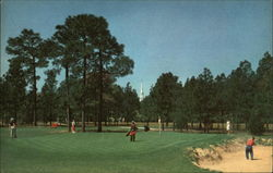 The 7th Green, Pinehurst Country Club's No. 2 Golf Course