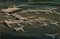 Boston's Logan International Airport-North and International Terminals