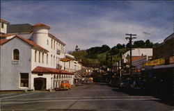 Washington Street with Sonora Inn in Foreground
