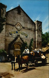 Paul Masson Vineyards, Front of the Historic Paul Masson Winery