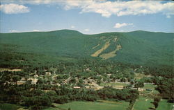 Aerial view of North Conway
