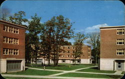 West Campus Dormitories for Men, The University of Connecticut