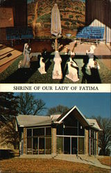 Shrine of Our Lady of Fatima, Saint Gabriel's Monestery