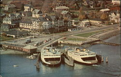 Jamestown, R.I. Terminal of Newport-Jamestown Ferry System