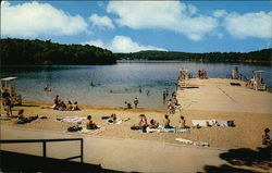 The Beach at Walden Pond - A State Park made famous by Henry D. Thoreau
