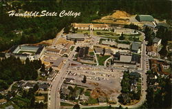 Aerial View of Humboldt State College