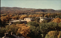 Baxter Hall and the Quadrangle From the Chapel Tower, Williams College