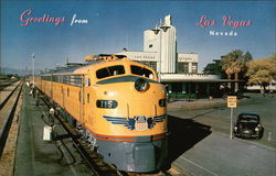 Greetings From Las Vegas, Union Pacific Steamliner