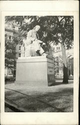 Horace Greeley Monument - City Hall Park