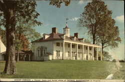 Mount Vernon, Former home and Burial Place of George Washington in Virginia