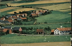 View of Homes and Farmland