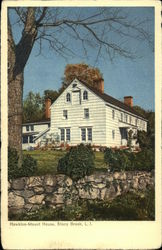 Hawkins-Mount House Postcard